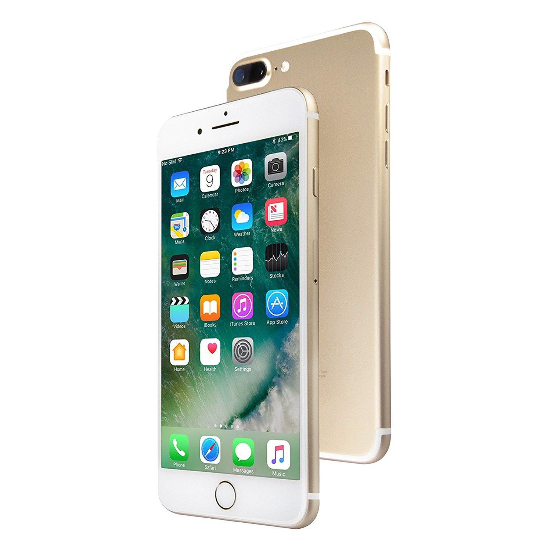 Apple iPhone 7 Plus, GSM Unlocked, 128GB - Gold (Certified