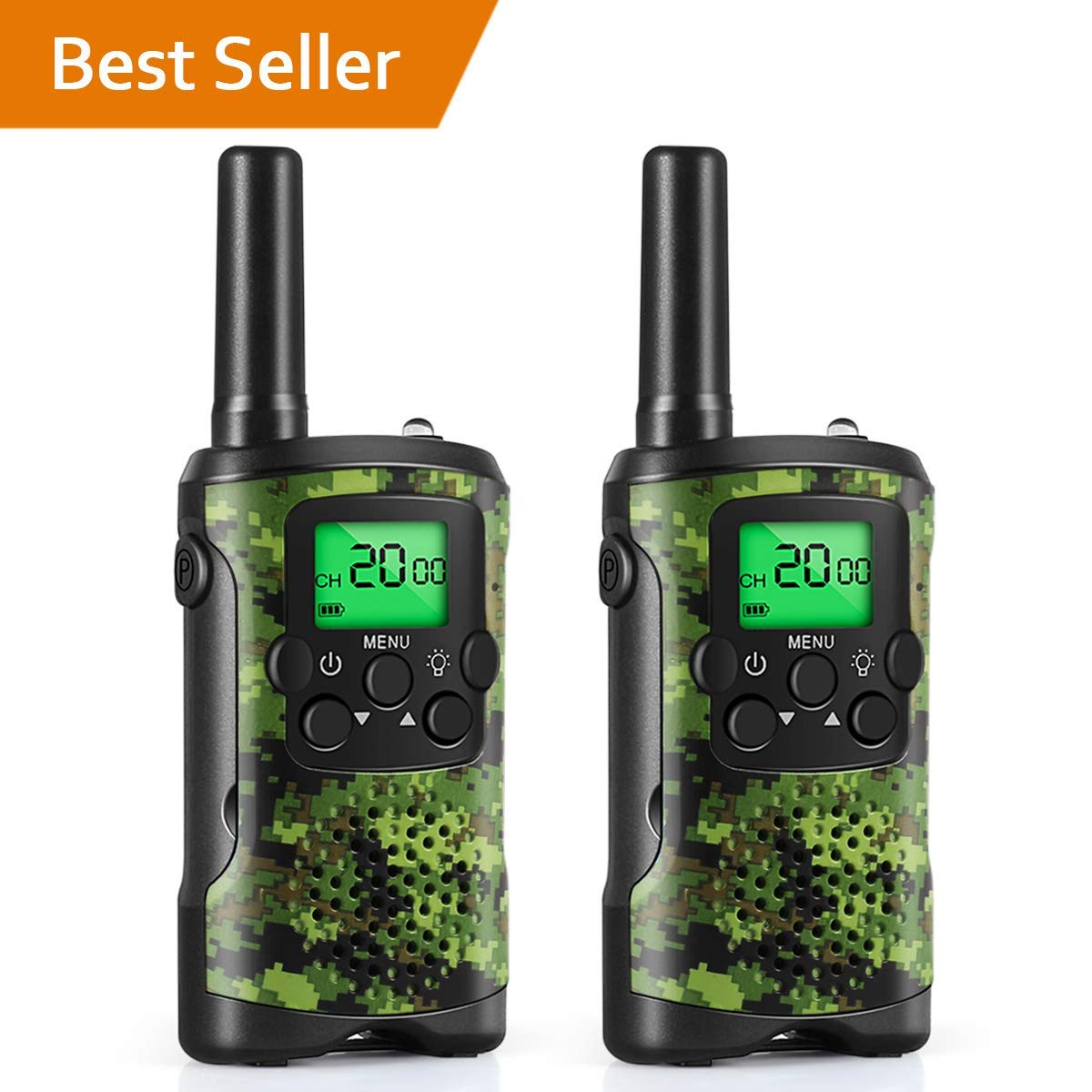 Walkie Talkies for Kids, Toys for 3-12 Year Old Boys 22 Channel 3 ...