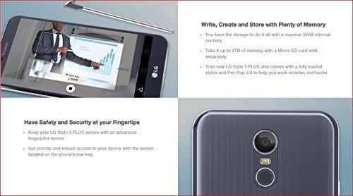 LG Stylo 3 Plus TP450 4G LTE 32GB Android Nougat 7 0 5 7