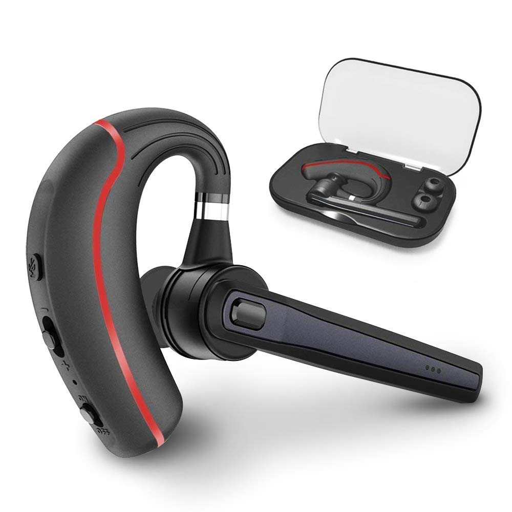 Bluetooth Headset, Hands Free Wireless Earpiece V4.1 With