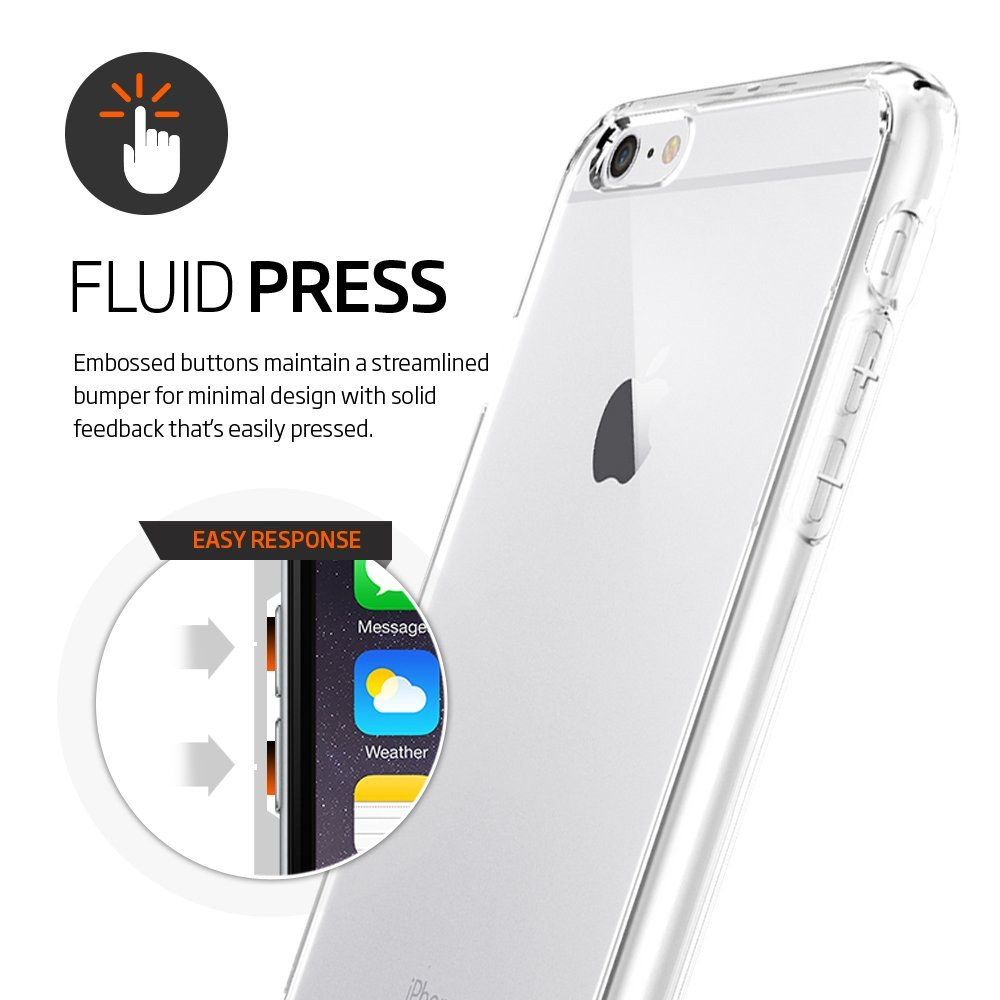 Spigen Ultra Hybrid Iphone 6 Case With Air Cushion Technology And In Telephone Hybrids Communications Content From Electronic Design Drop Protection For 6s Crystal Clear The Big Nano