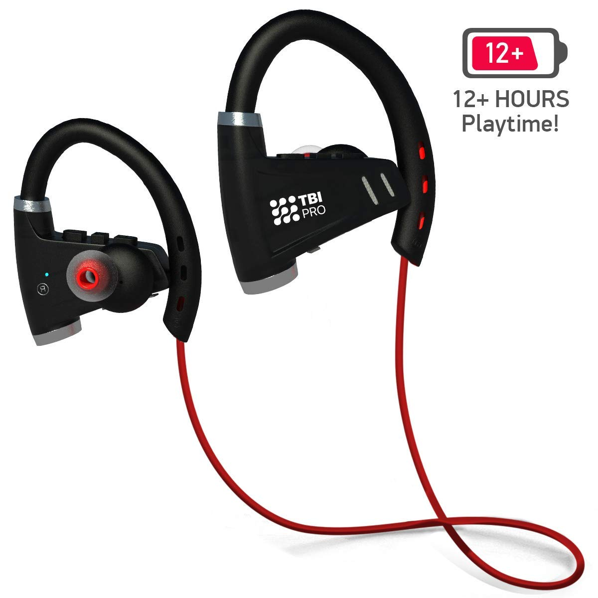 Newest 2019 Bluetooth Headphones W 12 Hours Battery Best Wireless Sport Earphones Mic Ipx7 Waterproof Music In Ear Earbuds Gym Running Workout Men Women Big Nano Best Shopping Destination For Tech Lovers