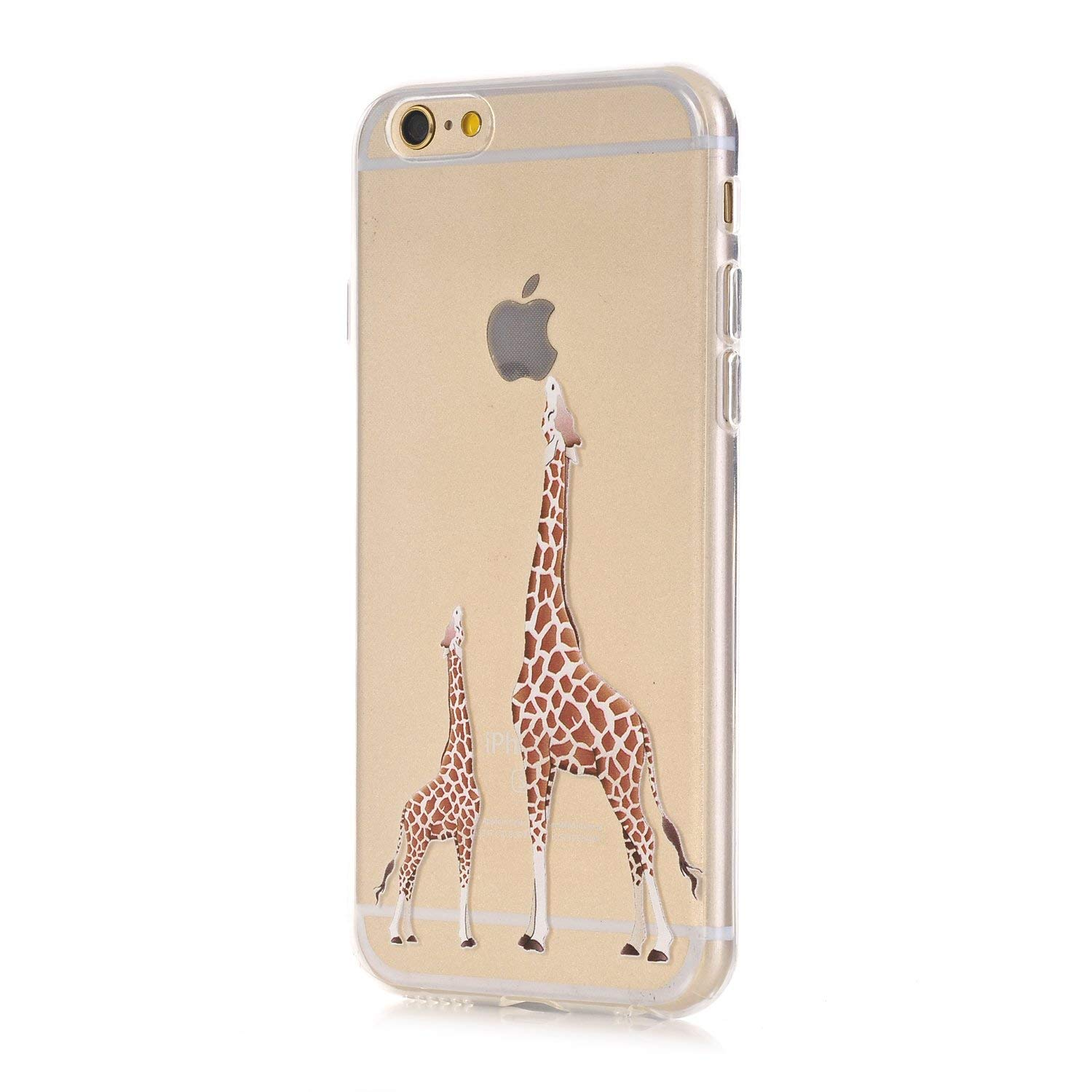 online store b7aaa e8845 LUOLNH iPhone 6 Plus Case,iPhone 6S Plus Case, [New Creative Design]  Flexible Soft TPU Silicone Gel Soft Clear Phone Case Cover for iPhone 6  Plus/6S ...
