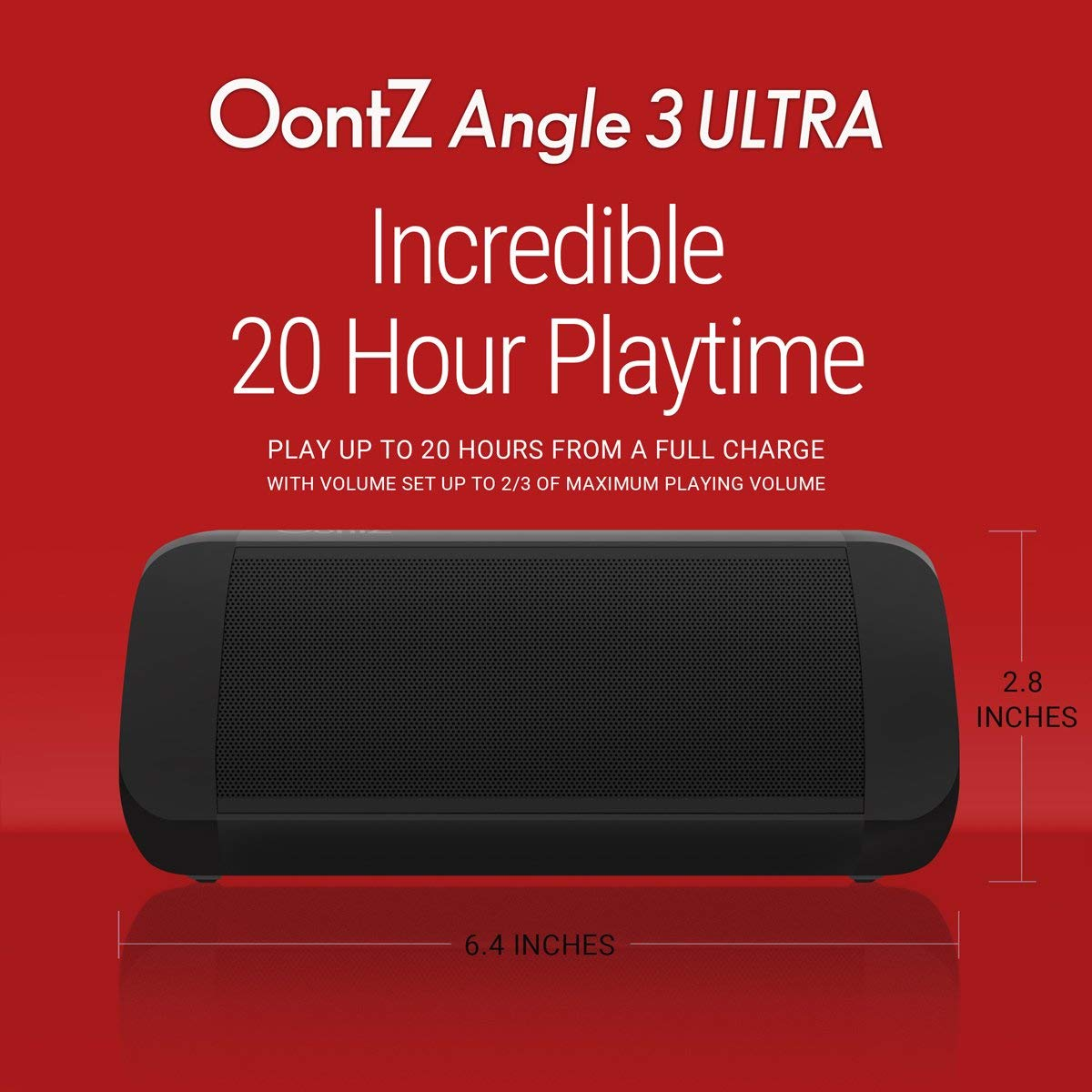 OontZ Angle 3 Ultra Portable Bluetooth Speaker 14-Watts Deliver Bigger Bass...