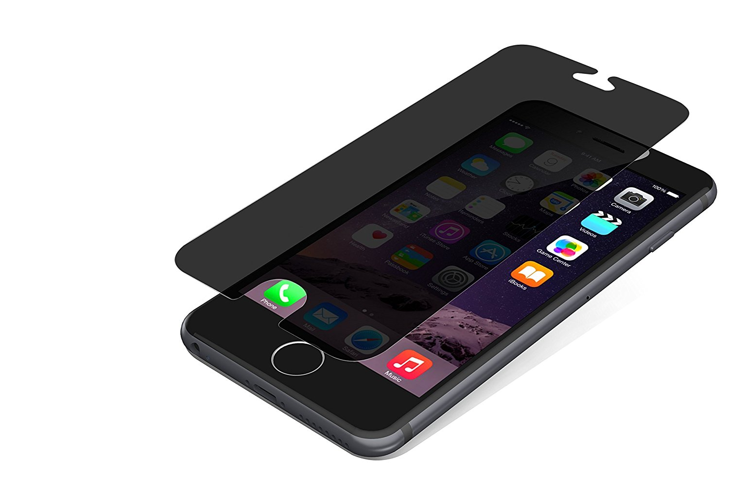 top design b954e 1890d ZAGG InvisibleShield HDX Screen Protector - HD Clarity + Extreme Shatter  Protection for Apple iPhone 6