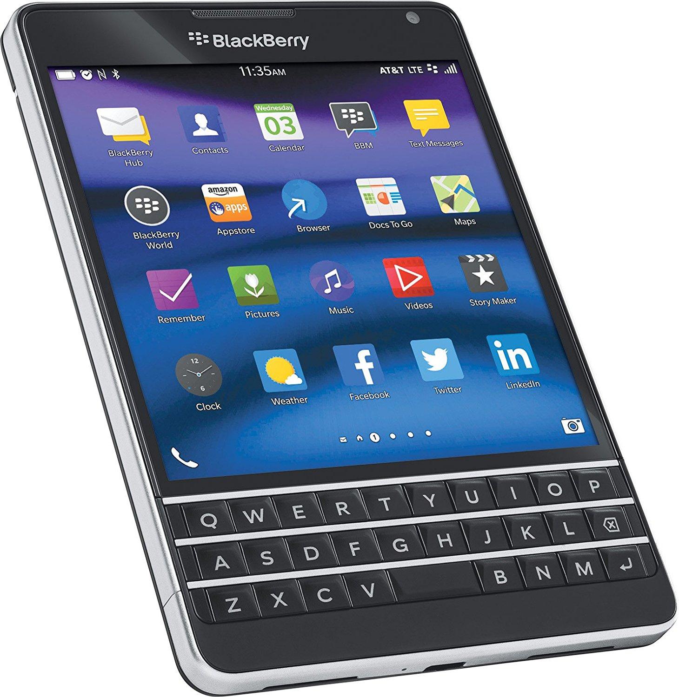BlackBerry Passport, Black 32GB (AT&T) - BIG nano - Best ...