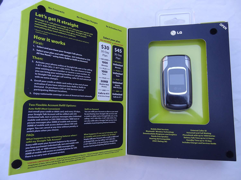 LG Straight Talk Prepaid 220C Phone