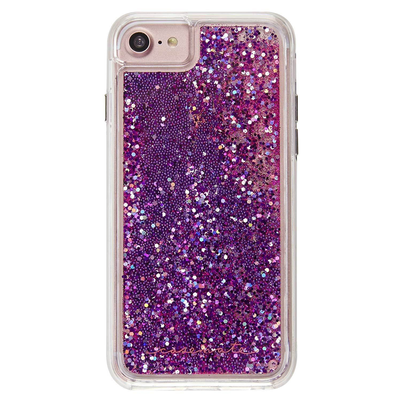 sports shoes 1f5da 0cc73 Case-Mate - iPhone 7 Case - Waterfall - Cascading Liquid Glitter ...