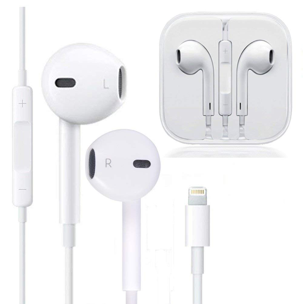 My Handy Design Earbuds Microphone Earphones Stereo Headphones Noise Isolating Headset Fit Compatible Iphone 7 7 Plus 8 8plus Xs X Xs Max Xr Big Nano Best Shopping Destination For Tech Lovers