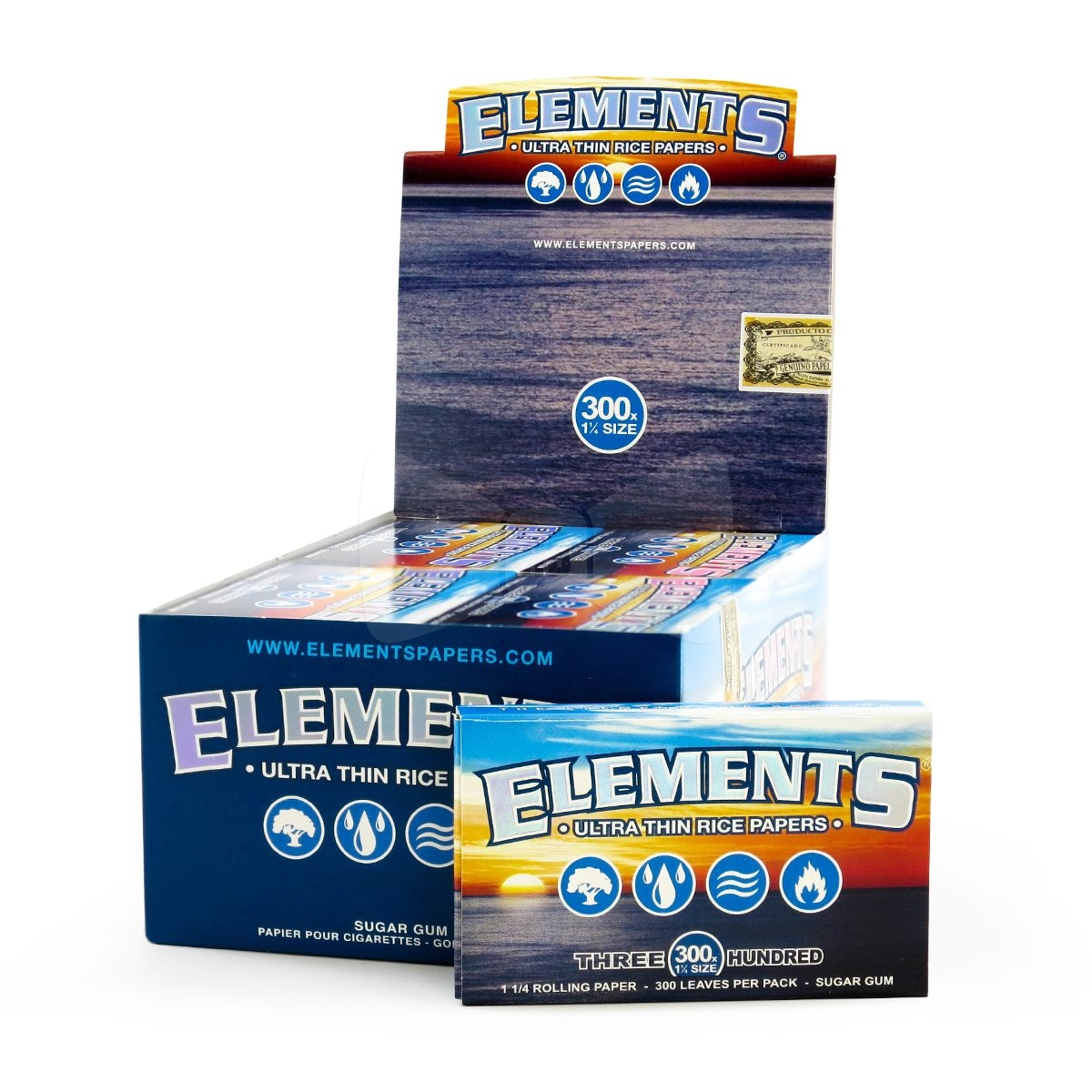 Elements 300 Rolling Papers 1 Pack